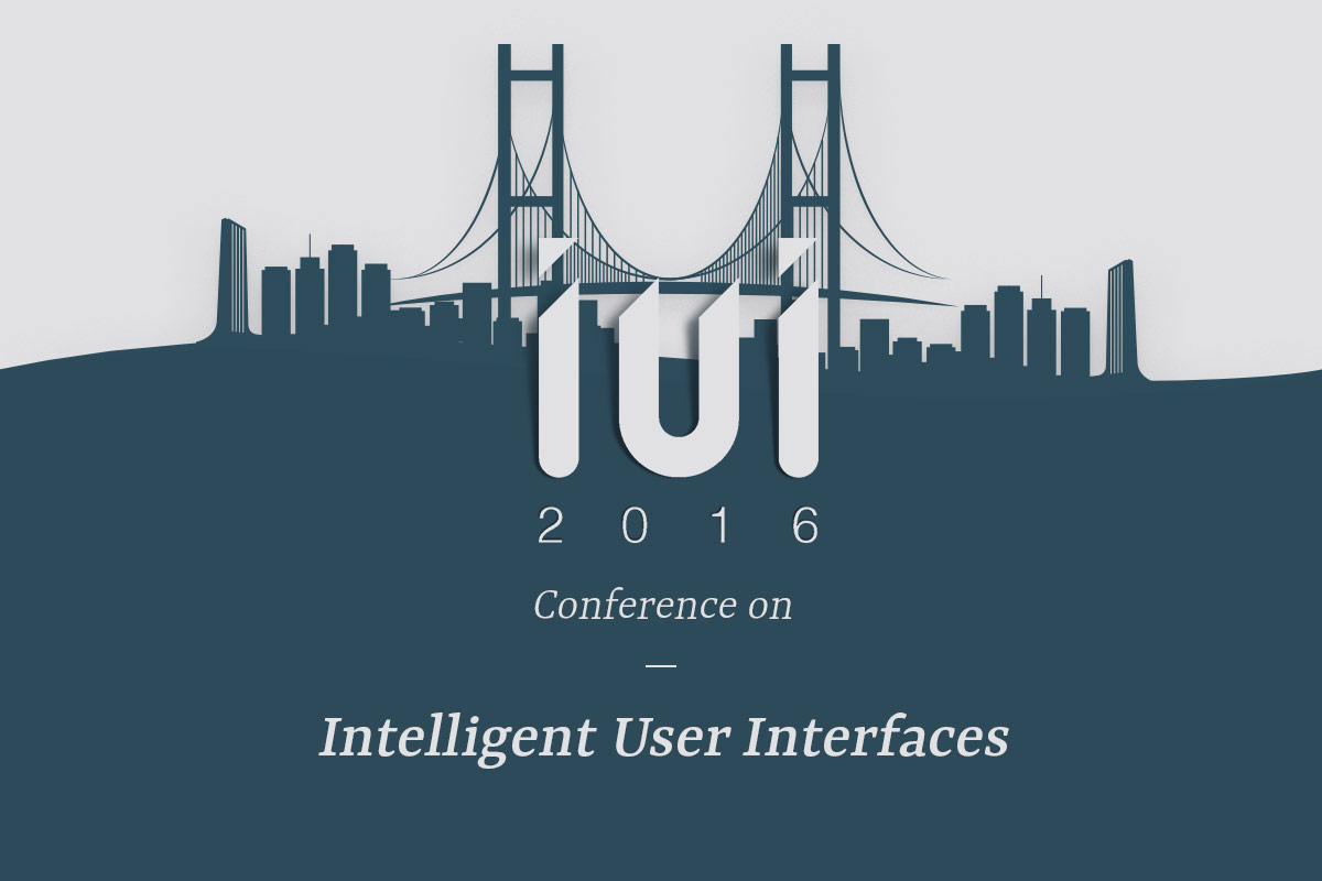 Intelligent User Interfaces | Conference 2016