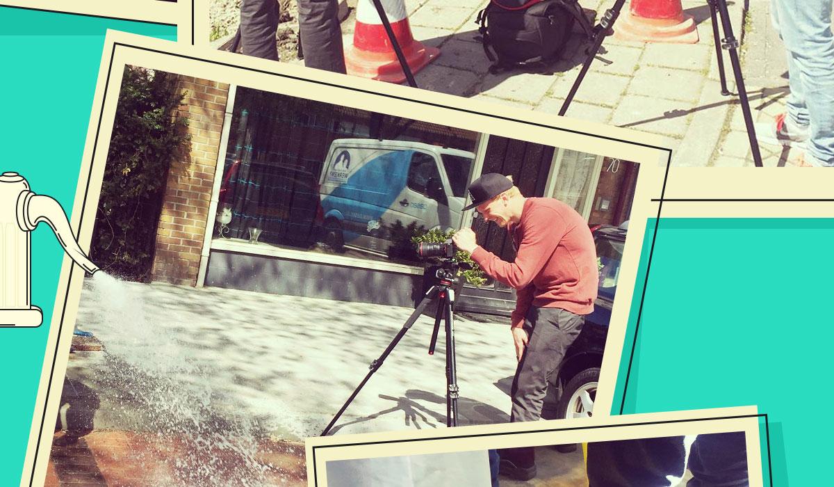 Oasen Footage behind the scenes