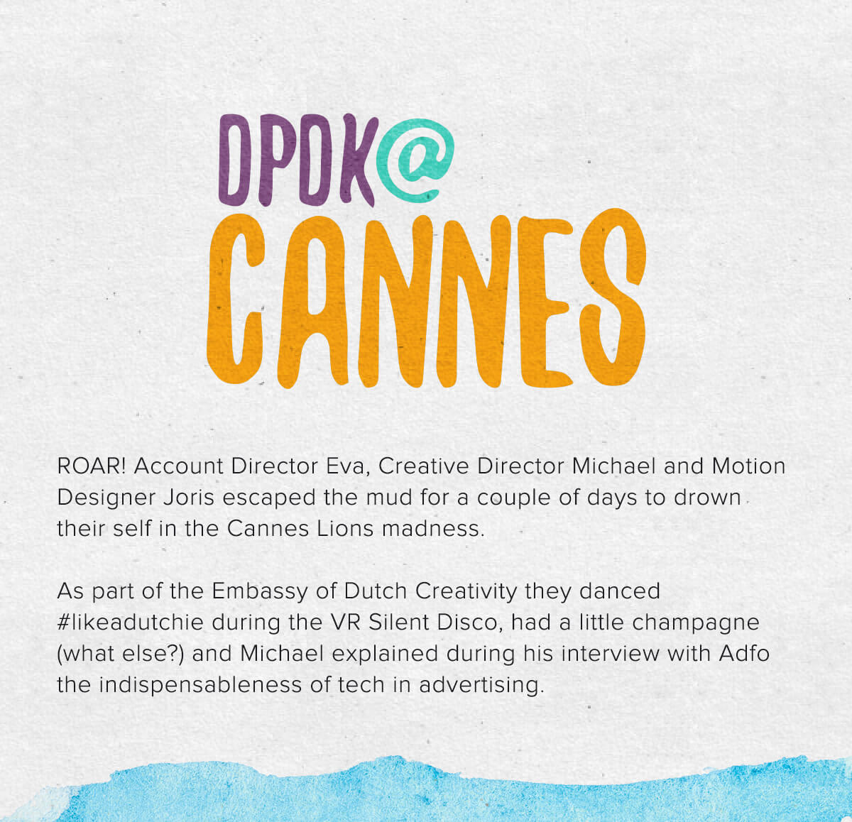 DPDK at Cannes