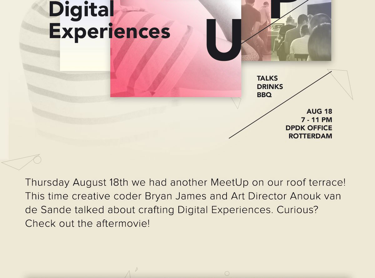 MeetUp Design Digital Experience
