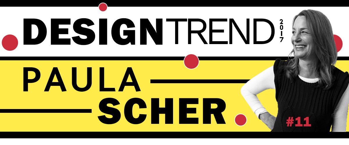 Design trend Paula Scher