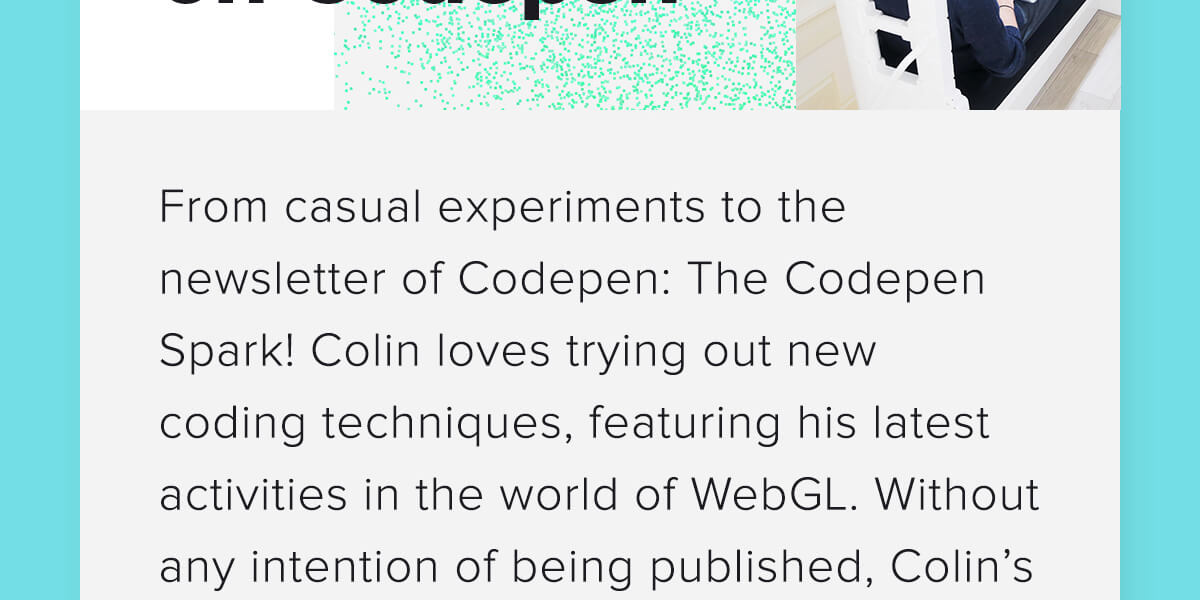 Colin on CodePen