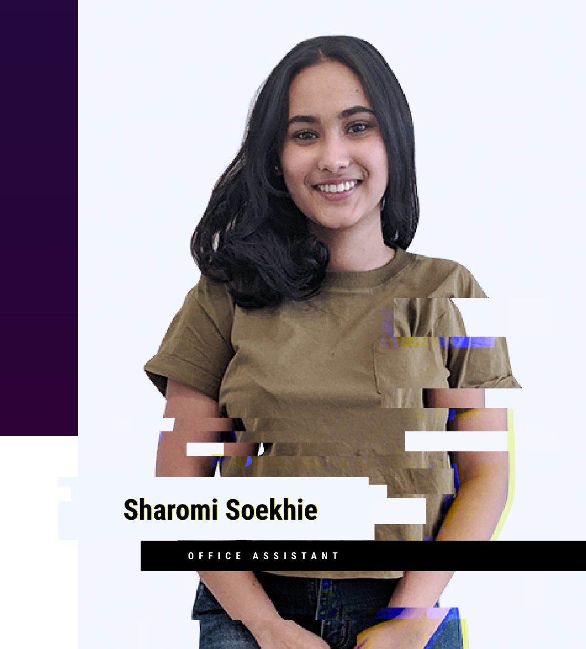 New to the Team: Sharomi Soekhie - Office assistant