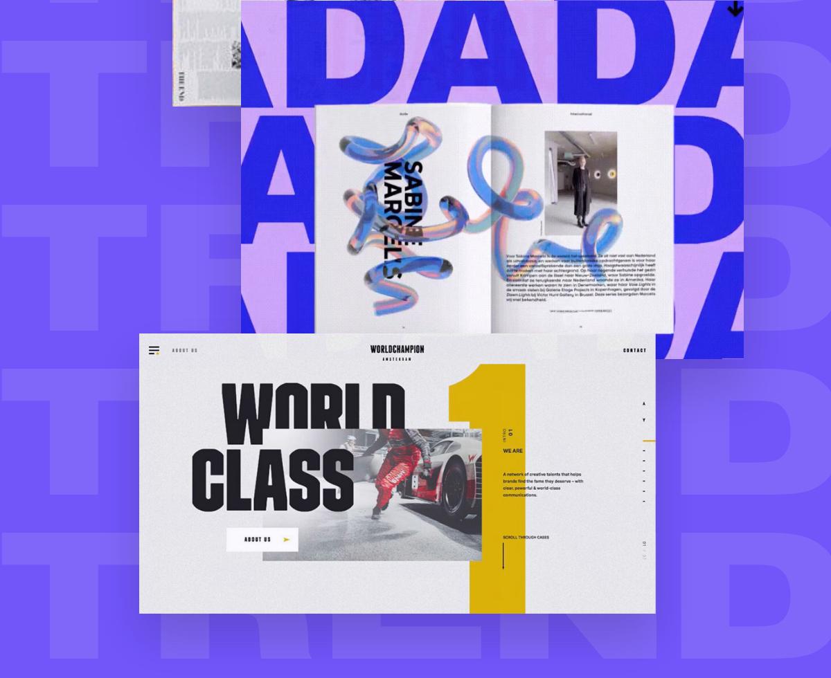 Maxi typography