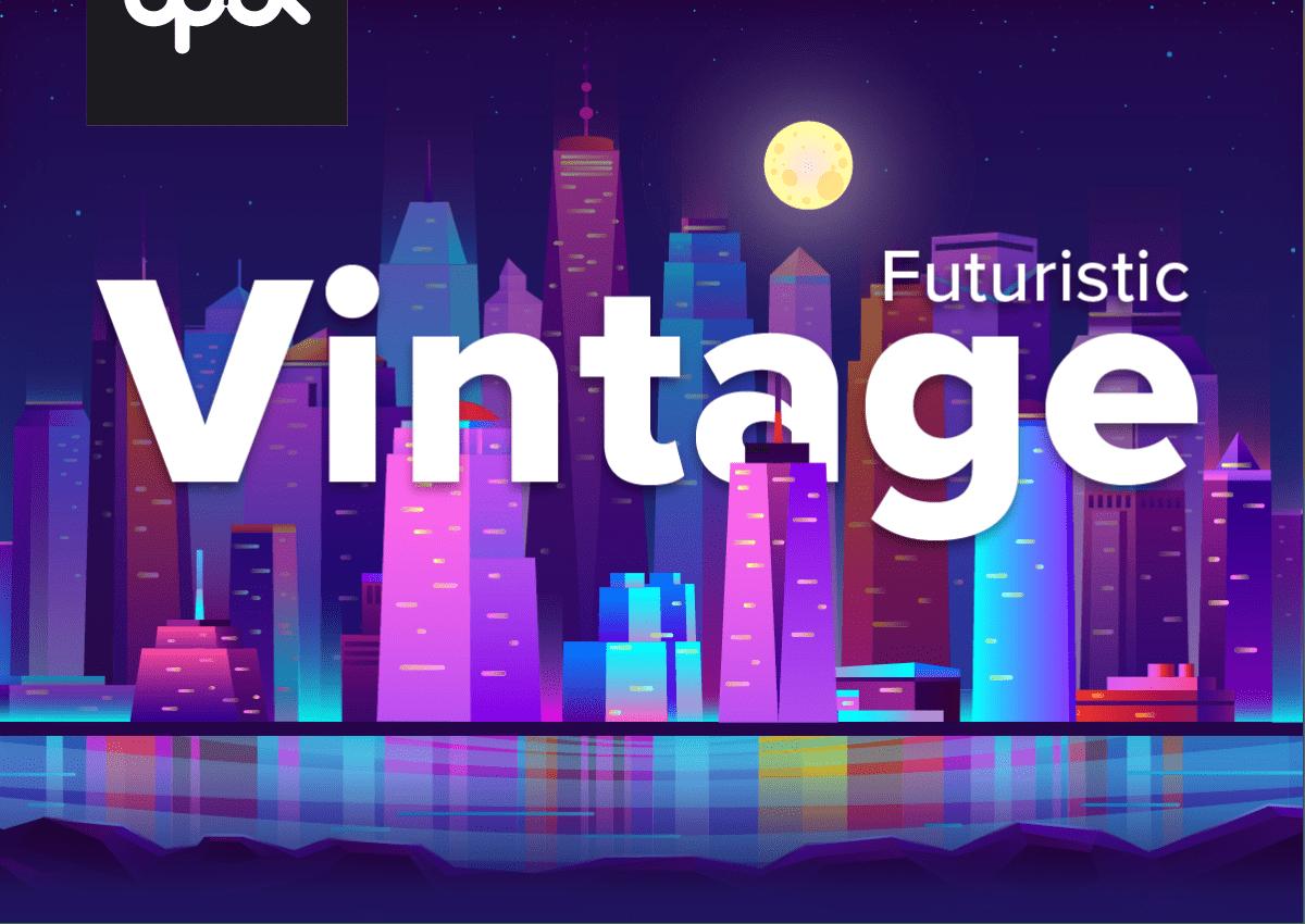 Newsletter Theme - Futuristic Vintage