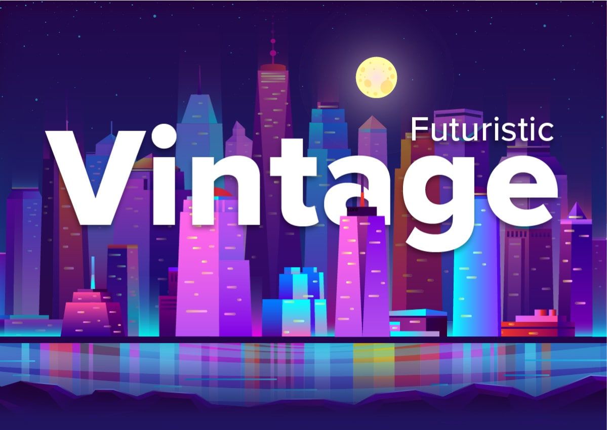 Last month's newsletter issue - Futuristic Vintage