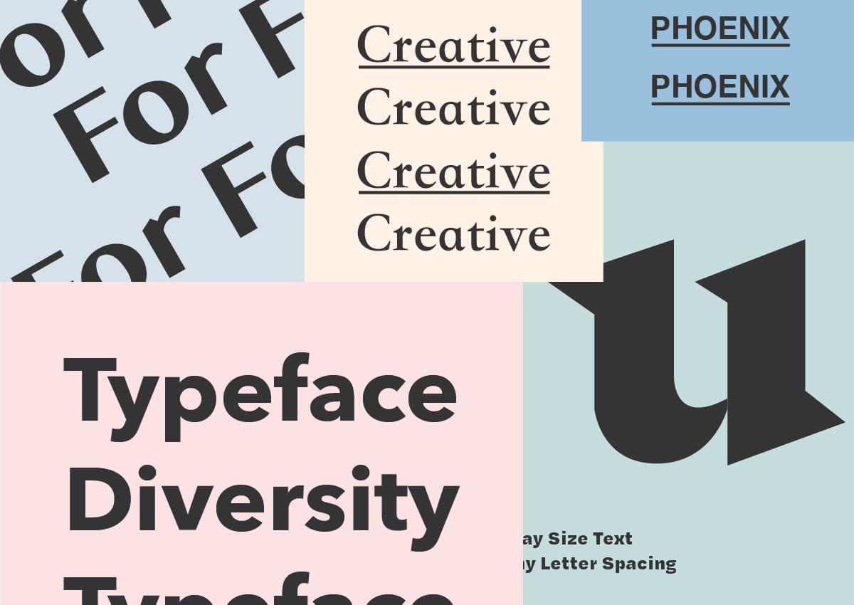 Typeface Diversity