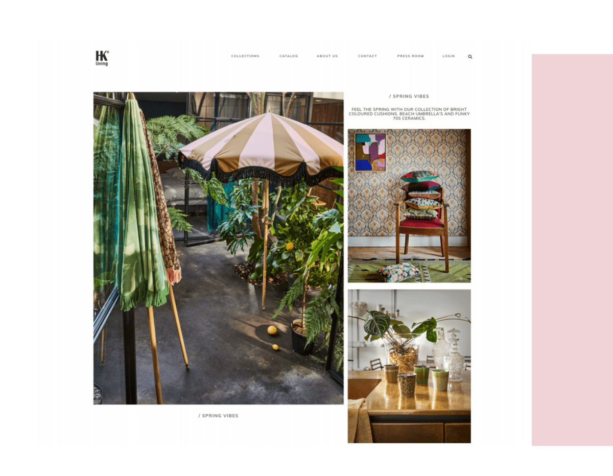 HKliving website