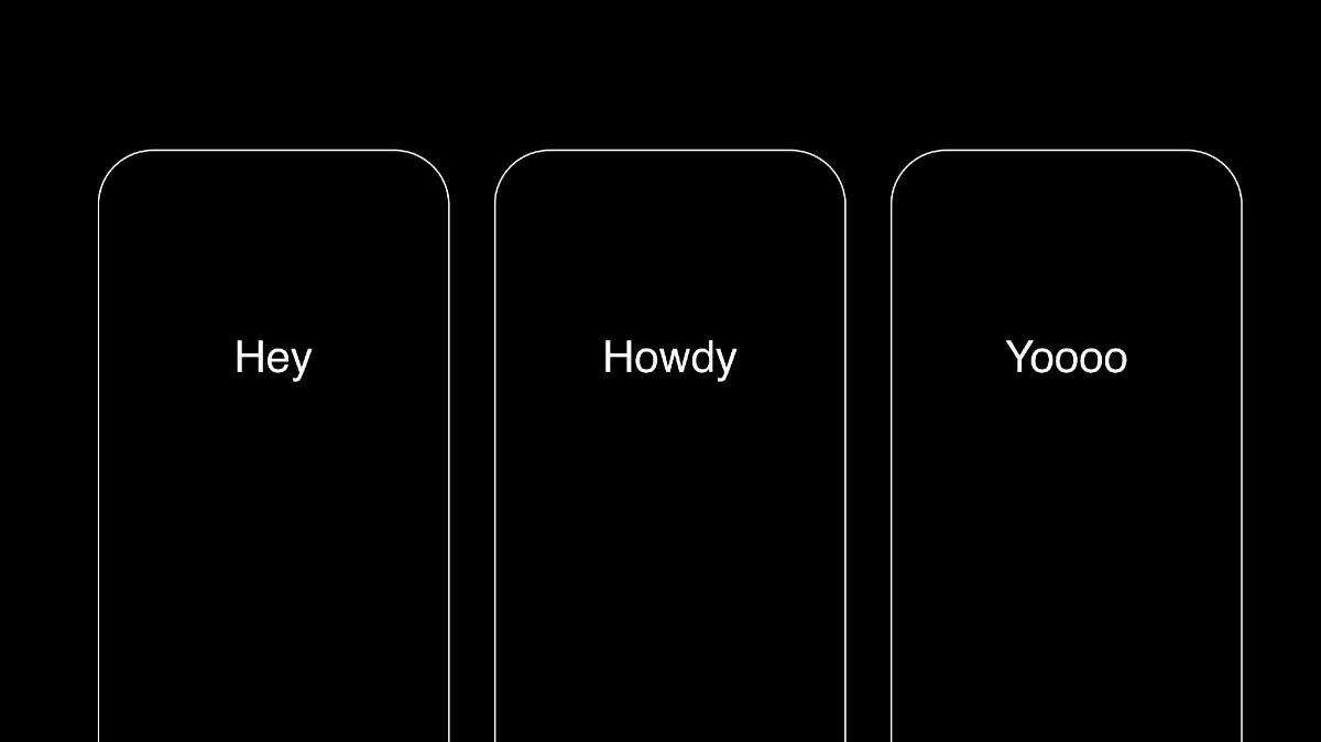phones ui
